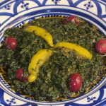 Image d'une salade Marocaine aux épinards
