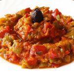 Image de Taktouka, salade Marocaine salée
